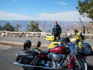 Gene at the Grand canyon